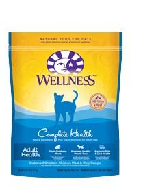 Wellness - Complete Health Wellness Complete Health Adult Health Deboned Chicken, Chciken Meal & Rice Recipe for Cats