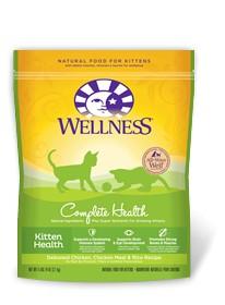Wellness - Complete Health Wellness Complete Health Kitten Health Deboned Chicken, Chicken Meal & Rice Recipe for Cats