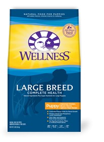 Wellness - Complete Health Wellness Complete Health Large Breed Puppy Deboned Chicken, Brown Rice & Salmon Meal Recipe for Dogs