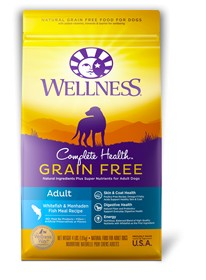 Wellness - Complete Health Wellness Complete Health Grain Free Adult Whitefish & Menhaden Fish Recipe for Dogs