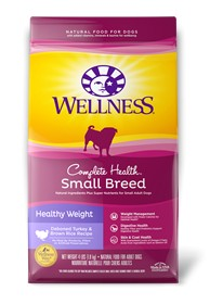 Wellness - Complete Health Wellness Complete Health Small Breed Healthy Wegith Turkey & Brown Rice Recipe for Dogs