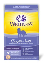 Wellness - Complete Health Wellness Complete Health Health Weight Deboned Chicken & Peas Recipe for Dogs