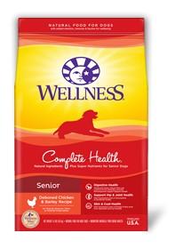Wellness - Complete Health Wellness Complete Health Senior Deboned Chicken & Barely Recipe for Dogs