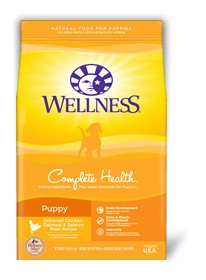 Wellness - Complete Health Wellness Complete Health Deboned Chicken, Oatmeal & Salmon Meal Recipe for Puppies