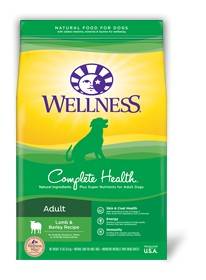 Wellness - Complete Health Wellness Complete Health Adult Lamb & Barely Recipe for Dogs