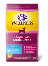 Wellness - Complete Health Wellness Complete Health Small Breed Senior Turkey & Peas Recipe for Dogs