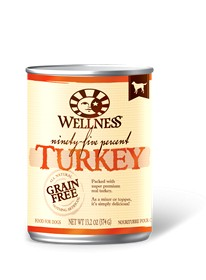 Wellness - Complete Health Wellness Ninety-Five Percent Turkey Recipe for Dogs
