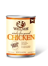Wellness - Complete Health Wellness Ninety-Five Percent Chicken Recipe for Dogs