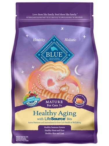 Blue - LPF BLUE™ Healthy Aging Chicken & Brown Rice For Mature Cats