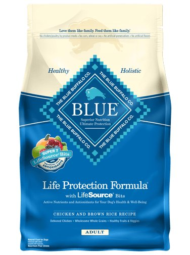 Blue - LPF Life Protection Formula® Chicken and Brown Rice Recipe For Adult Dogs