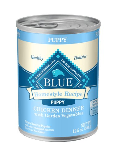 Blue - LPF BLUE Homestyle Recipe® Chicken Dinner with Garden Vegetables For Puppies
