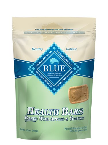 Blue - LPF BLUE™ Health Bars Baked with Apples and Yogurt Natural Biscuits for Dogs