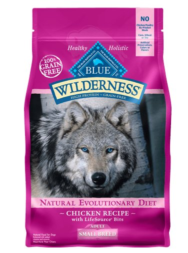 Blue - Wilderness BLUE Wilderness® Chicken Recipe For Small Breed Adult Dogs
