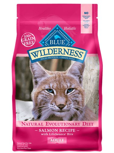 Blue - Wilderness BLUE Wilderness® Salmon Recipe For Adult Cats