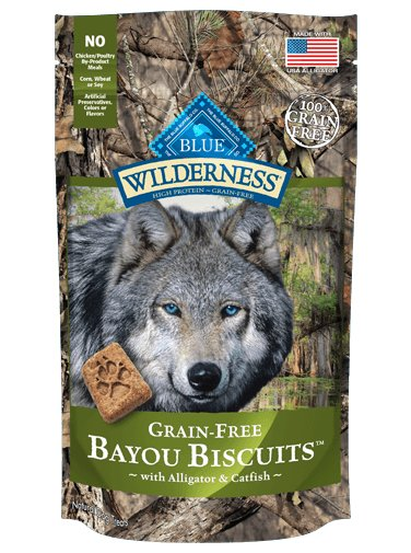 Blue - Wilderness BLUE Wilderness® Bayou Biscuits™ with Alligator & Catfish for Dogs
