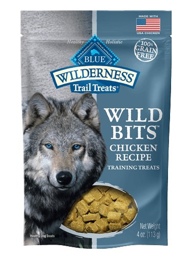 Blue - Wilderness BLUE Wilderness Trail Treats® Chicken Wild Bits™ Grain-Free Dog Training Treats for Dogs