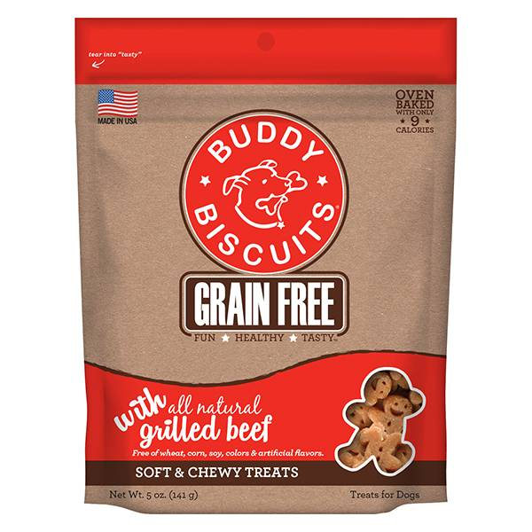 Grain Free Soft & Chewy Treats: Grilled Beef for Dogs