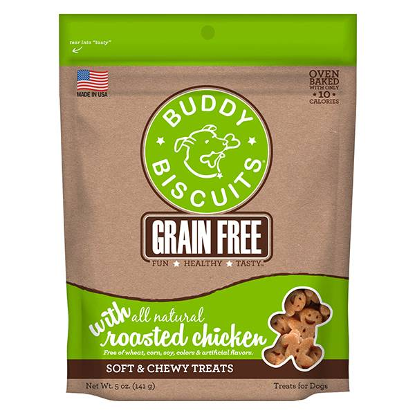 Grain Free Soft & Chewy Treats: Roasted Chicken for Dogs