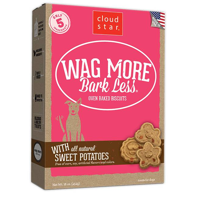 Wag More Bark Less Oven-Baked: Sweet Potatoes for Dogs