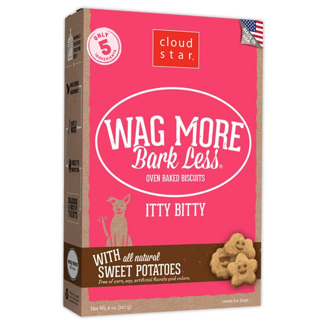 Wag More Bark Less Oven-Baked Itty Bitty: Sweet Potatoes for Dogs