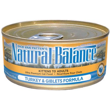 Natural Balance Natural Balance Cat Can Turkey 3 oz