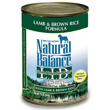 Natural Balance Natural Balance Dog Can 13 oz. LID Lamb