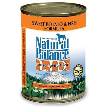 Natural Balance Natural Balance Dog Can LID Fish