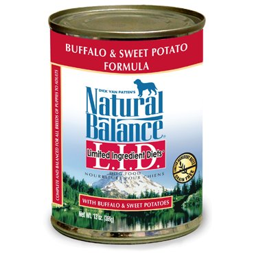 Natural Balance Natural Balance Dog Can 13 oz. LID Buffalo