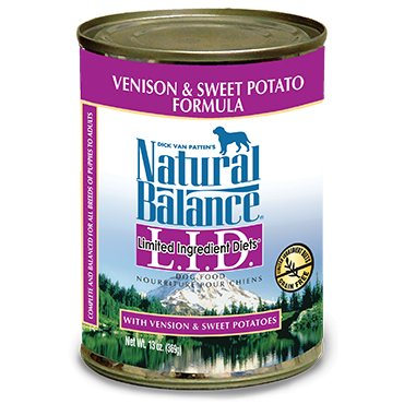 Natural Balance Natural Balance Dog Can LID Venison