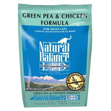 Natural Balance Natural Balance Dry Cat Food LID Pea & Chicken