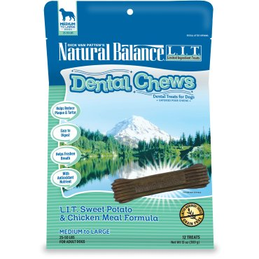 Natural Balance Natural Balance Dental Chew L.I.T. Chicken Regular