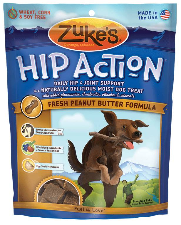 Zuke's Zuke's Hip Action Peanut Butter