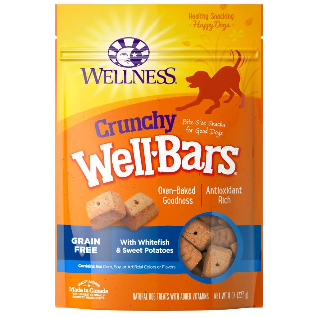 Wellness - Complete Health Wellness Wellbars Crunchy Snacks Whitefish/Sweet Potato 8 oz.