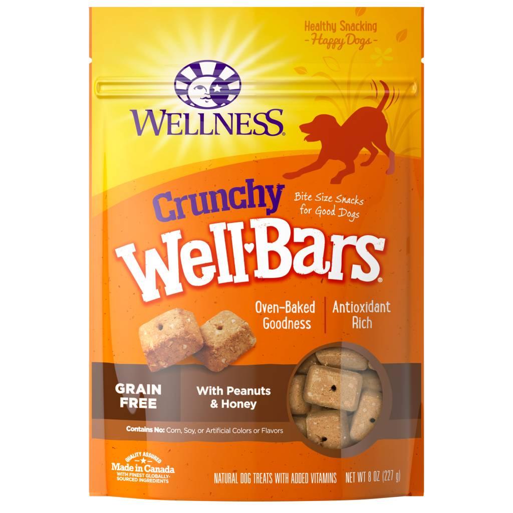 Wellness - Complete Health Wellness Wellbars Crunchy Snacks Peanut/Honey 8 oz.