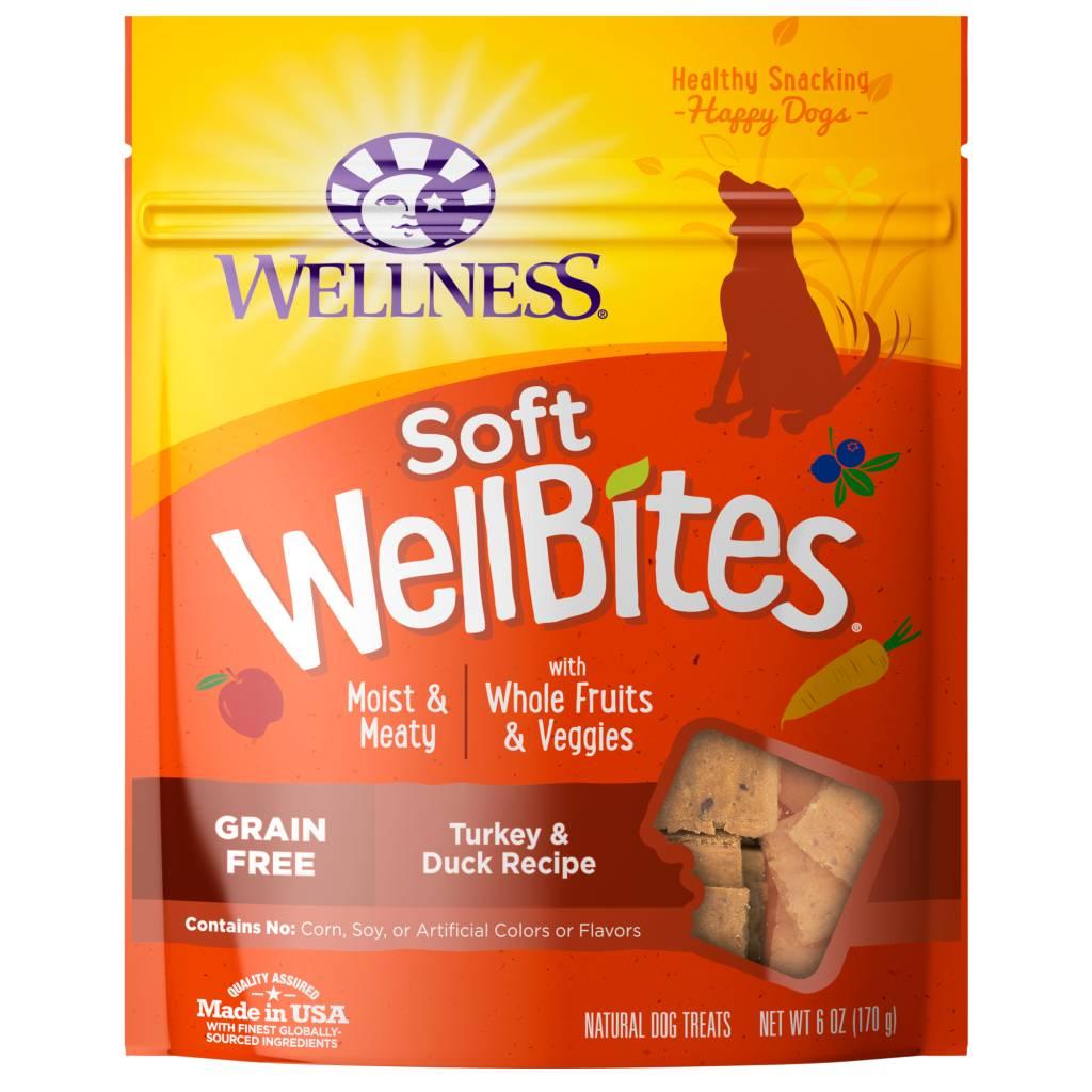 Wellness - Complete Health Wellness Wellbites Soft Snacks Turkey/Duck 6 oz.