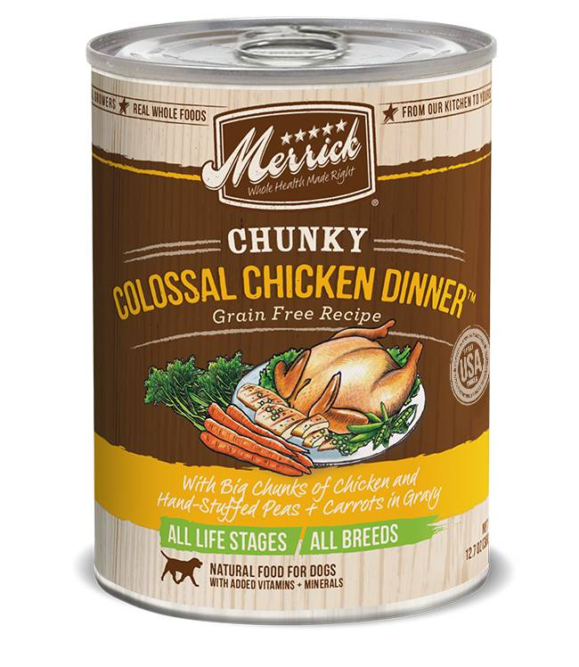 Merrick Merrick Can Dog Food Chunky Colossal Chicken Dinner