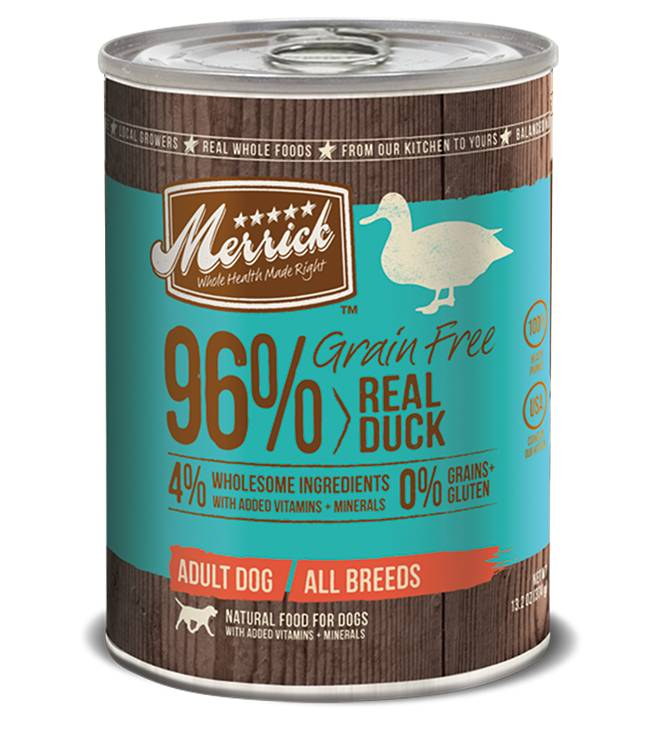 Merrick Merrick Can Dog 13.2 oz Grain Free 96% Duck