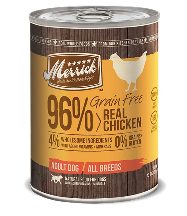 Merrick Merrick Can Dog 13.2 oz Grain Free 96% Chicken