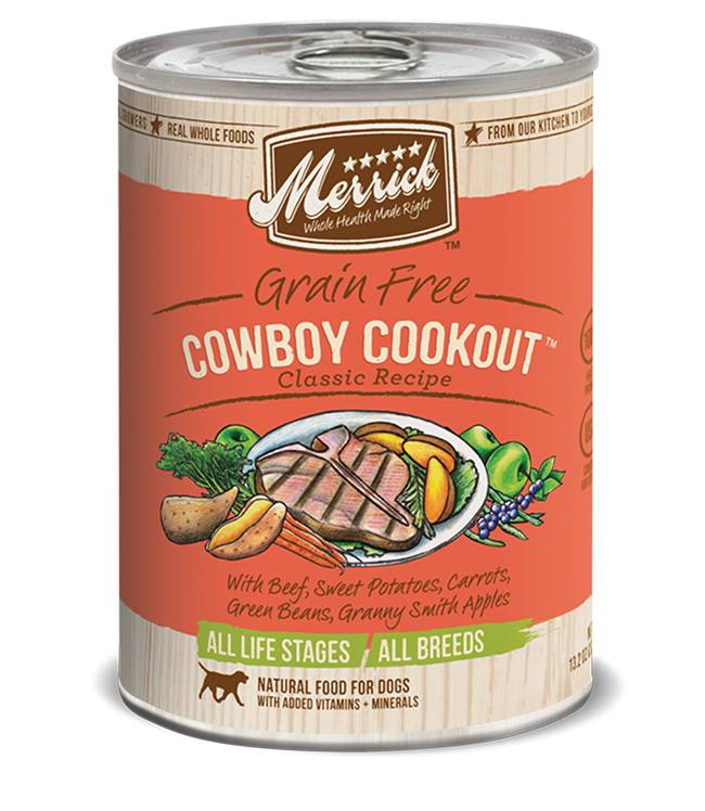 Merrick Merrick Can Dog 13.2 oz Cowboy Cookout