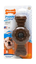 Nylabone Puppy Chew Ring Bone Dog Toy