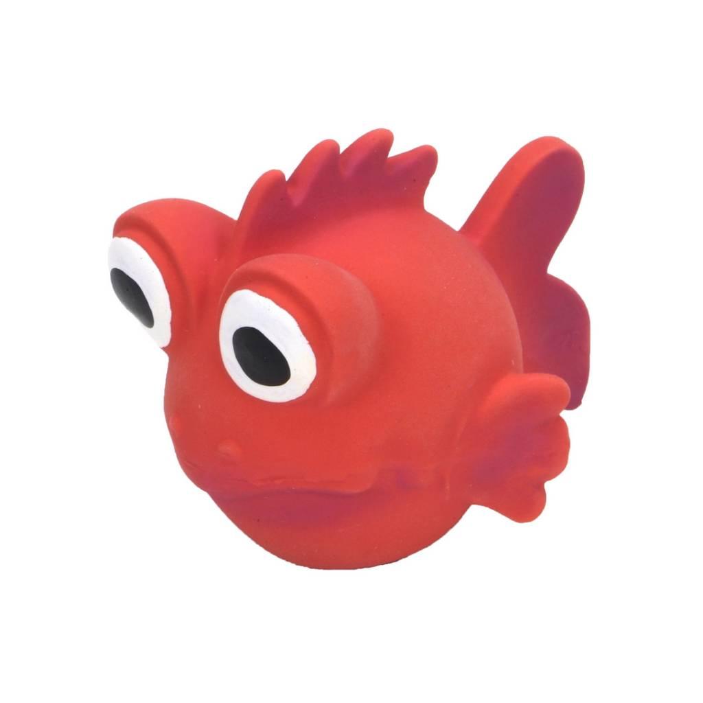 Rascals Rascals 3.5'' Latex Goldfish Dog Toy