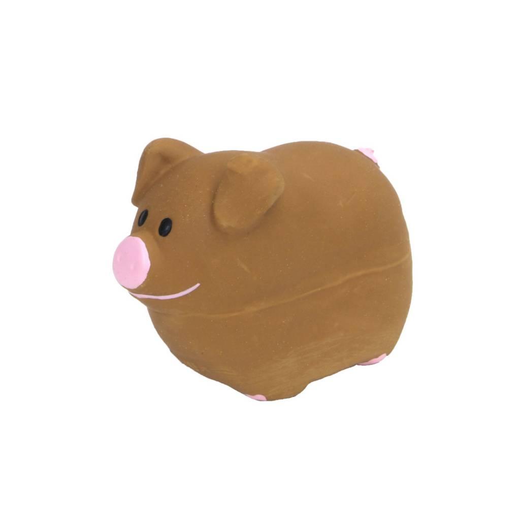 Rascals Rascals 2.75'' Latex Pig Dog Toy