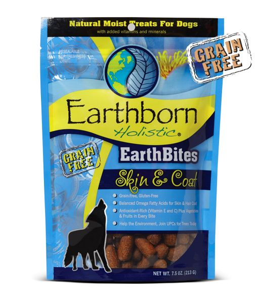 Earthborn Earthborn Earthbite Treats Skin & Coat