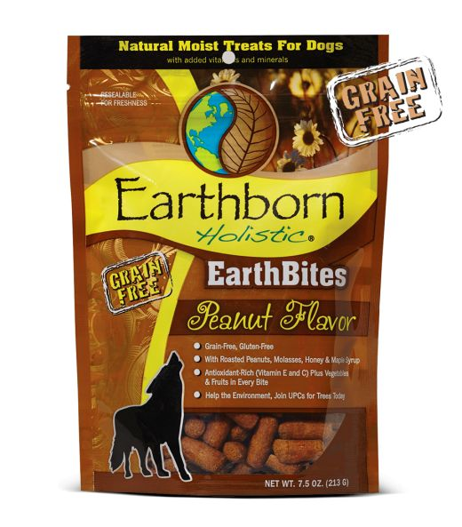 Earthborn Earthborn Earthbite Treats Peanut Butter