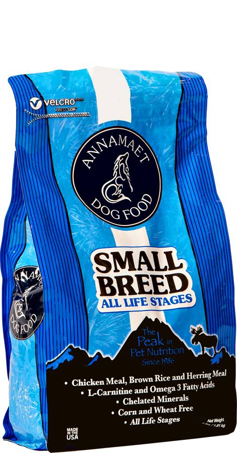 Annamaet Annamaet Small Breed Adult All Life Stages Dry Dog Food Chicken 4 lb.