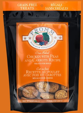 Fromm Fromm 4-Star Treats Chicken/Carrots/Peas 8 oz