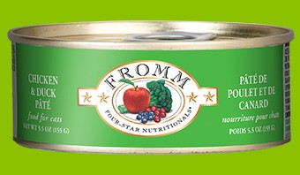 Fromm Fromm Can Cat Chicken & Duck Pate 5.5oz.