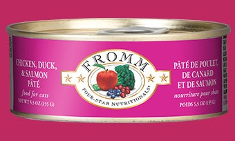 Fromm Fromm Can Cat Chicken, Duck & Salmon Pate 5 oz