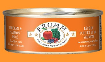 Fromm Fromm Can Cat Chicken & Salmon Pate 5 oz