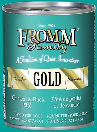 Fromm Fromm Gold Dog Can Chicken & Duck Pate 12.2oz